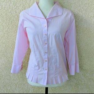 Talbots woman petites blouse